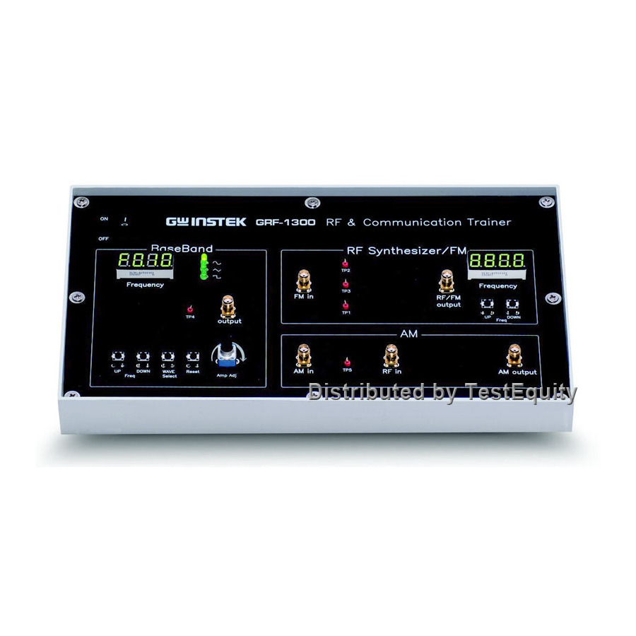 Instek GRF-1300A RF and Communication System Trainer