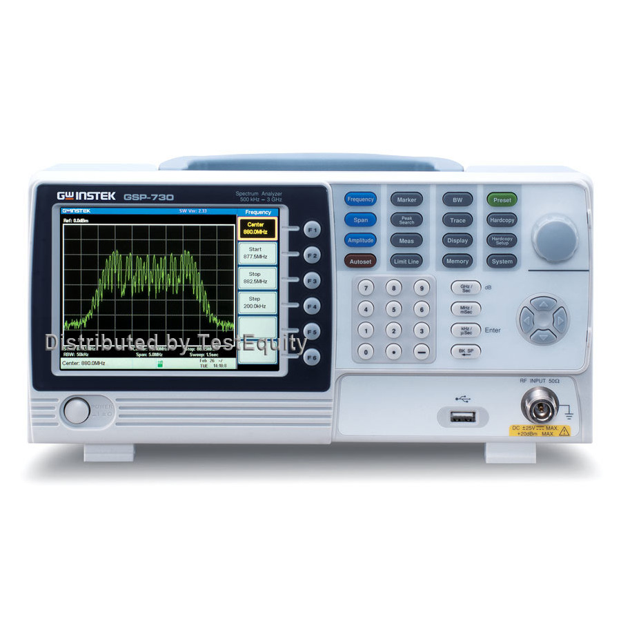Instek GSP-9300B Spectrum Analyzers