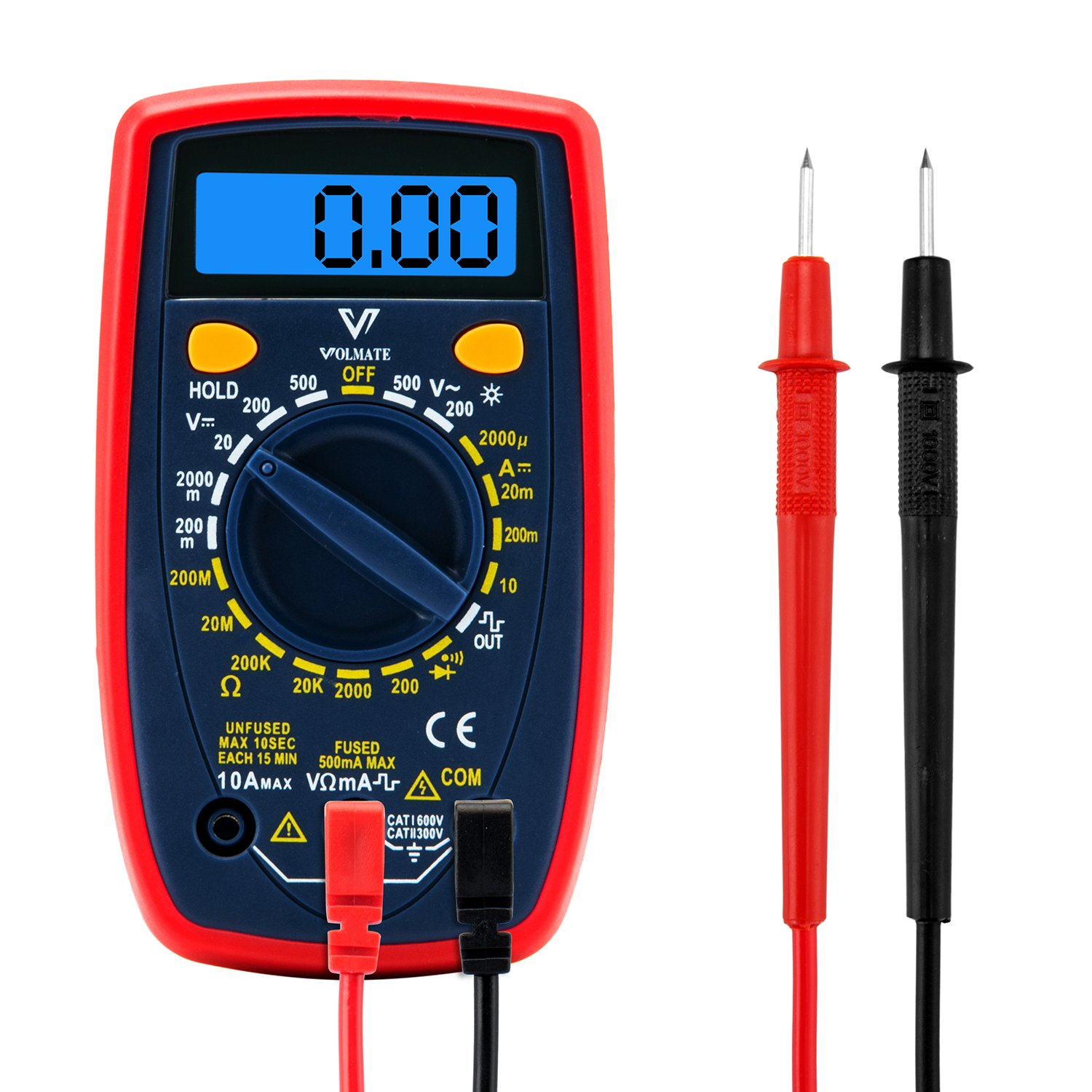 Electrical Test Meters & Multimeters