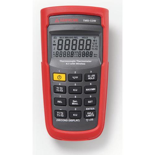 Amprobe TMD-53W Thermocouple Thermometer w/Wireless