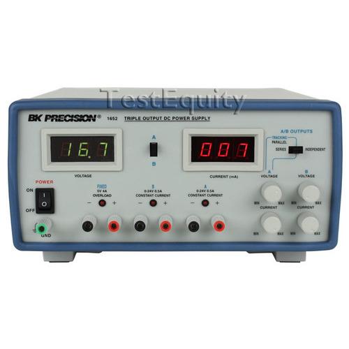 B&K Precision 1652 DC Power Supply