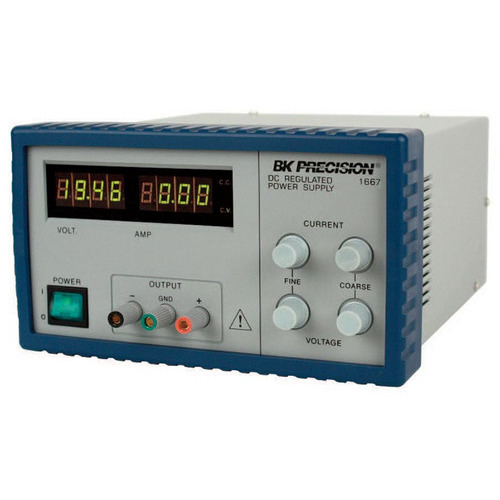 B&K Precision 1667 DC Power Supply