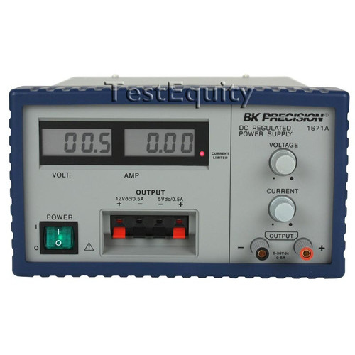 B&K Precision 1671A DC Power Supply