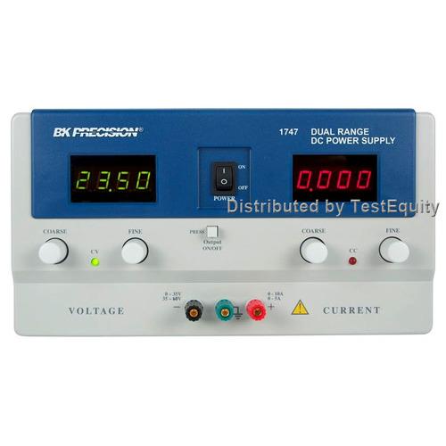 B&K Precision 1747 Dual Range DC Power Supply