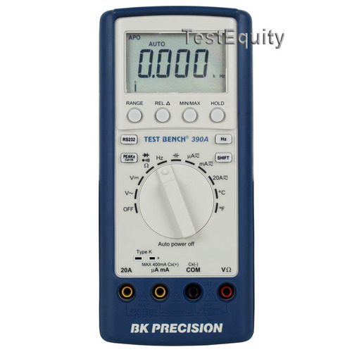 B&K Precision 390A Test Bench DMM