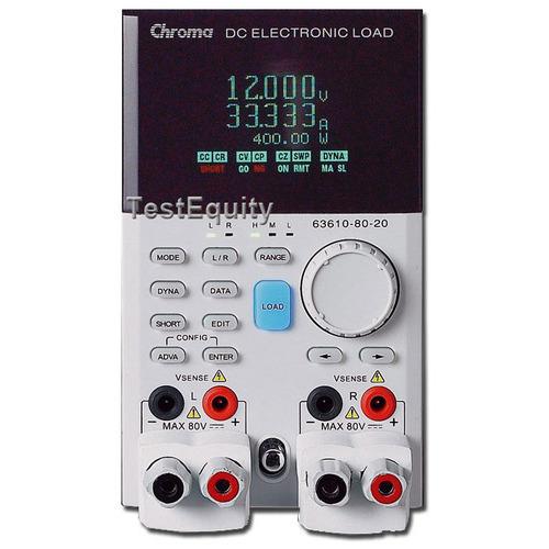 Chroma 63610-80-20 DC Load Module
