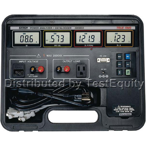 Extech 380803 Power Analyzer Datalogger