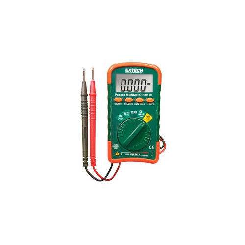 Extech DM110 Pocket MultiMeter