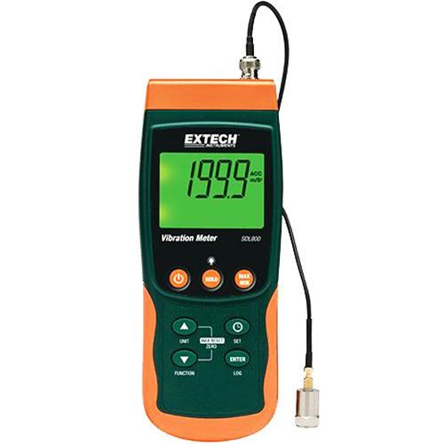 Extech SDL800 Vibration Meter/Datalogger
