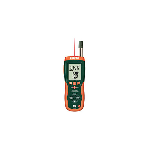 Extech HD500 Psychrometer with IR Thermometer w/NISTL