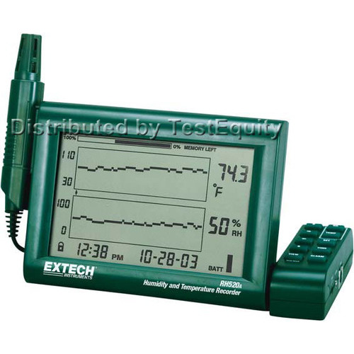 Extech RH520A Humidity+Temperature Chart Recorder