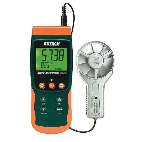 Extech SDL300 Thermo-Anemometer/Datalogger