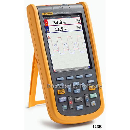Fluke 123B NA S Industrial ScopeMeter Handheld Oscilloscope