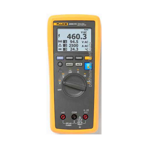 Fluke 3002 FC Fluke Connect Series Wireless Digital Multimeter