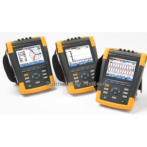 Fluke 435-II/BASIC Three-Phase Power Quality and Energy Analyzer