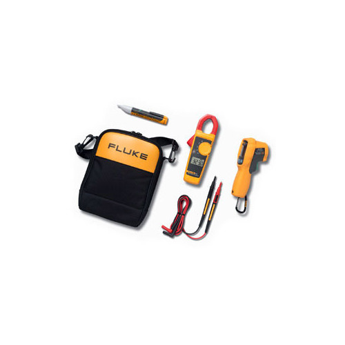 Fluke 62MAX+/323/1AC IR Thermometer, Clamp Meter and Voltage Detector Kit