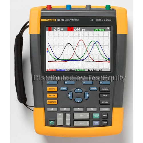 Fluke 190-104/AM/S ScopeMeter II