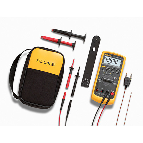 Fluke 87-5/E2 KIT Digital Multimeter Industrial Electrician Combo Kit