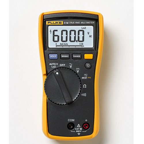 Fluke 114 Electrician's True RMS Multimeter