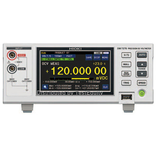 Hioki DM7275-03 Precision DC Voltmeter