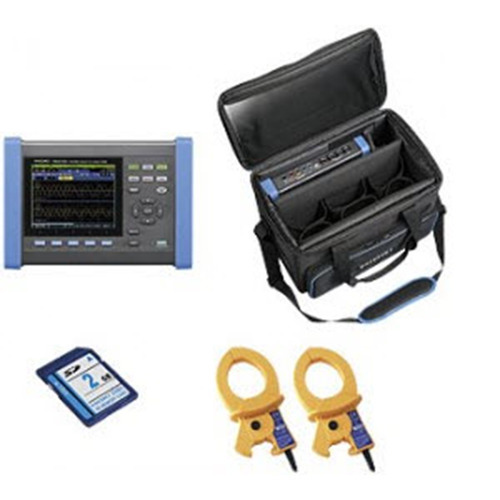 Hioki PQ3100-01/600 KIT Power Quality Analyzer 2x600A Clamp PQA Kit, PQ3100 Series