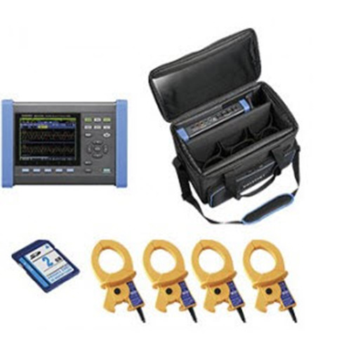 Hioki PQ3100-02/600 KIT Power Quality Analyzer 4x600A Clamp PQA Kit, PQ3100 Series