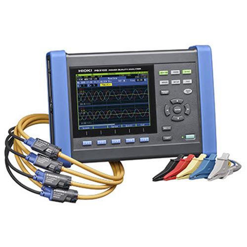 Hioki PQ3100 Power Quality Analyzer, 3-Phase, 4-Wire PQA
