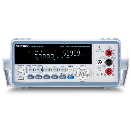 Instek GDM-8342GP Dual Measurement Multimeter