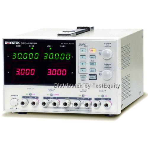 Instek GPD-2303S DC Power Supply