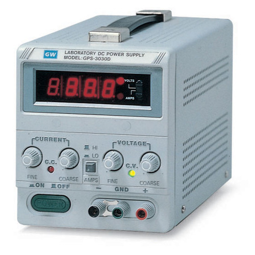 Instek GPS-1850D Linear DC Power Supply, Single Output, 90W, GPS Series