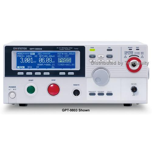 Instek GPT-9801 Electrical Safety Tester