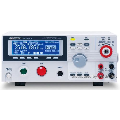 Instek GPT-9804 Electrical Safety Tester