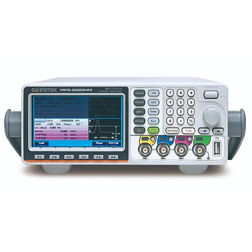 Instek MFG-2220HM Dual Channel Arbitrary Function Generator, 200MHz, with Pulse Generator, Modulation, MFG-2000 Series