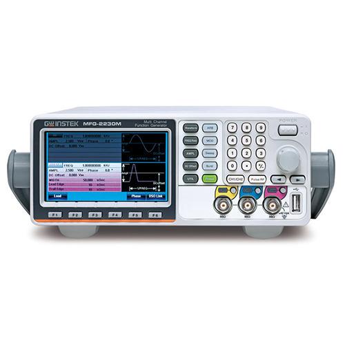 Instek MFG-2230M Arbitrary Function Generator, Dual Channel, 30MHz, with Pulse Generator Modulation, MFG-2000 Series