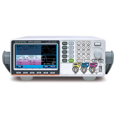 Instek MFG-2260M Dual Channel Arbitrary Function Generator with Pulse Generator, Modulation, 60MHz, MFG-2000 Series