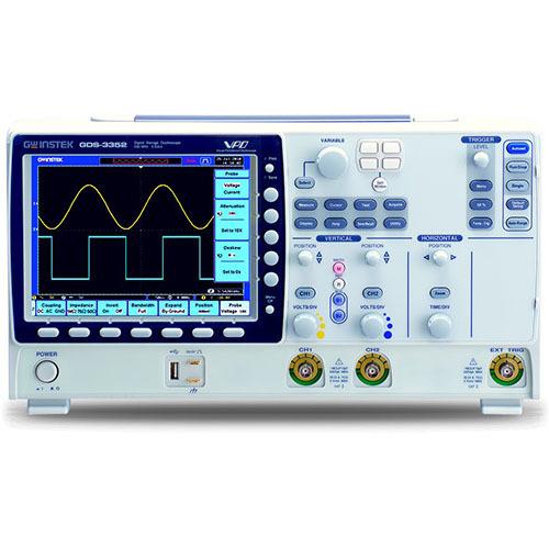 Instek GDS-3352 350 MHz 2-Ch Digital Storage Oscilloscope