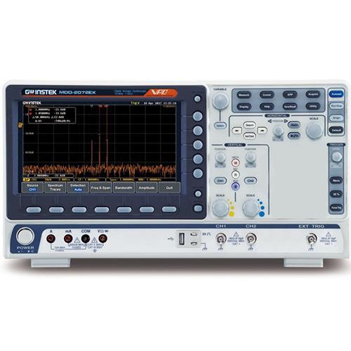 Instek MDO-2072EX 70 MHz Mixed Domain Oscilloscope