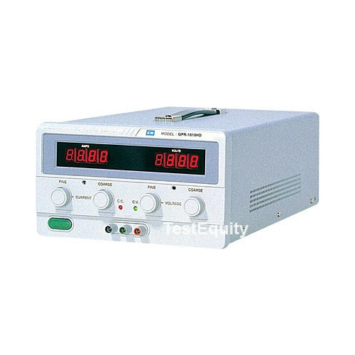 Instek GPR-7550D Power Supply