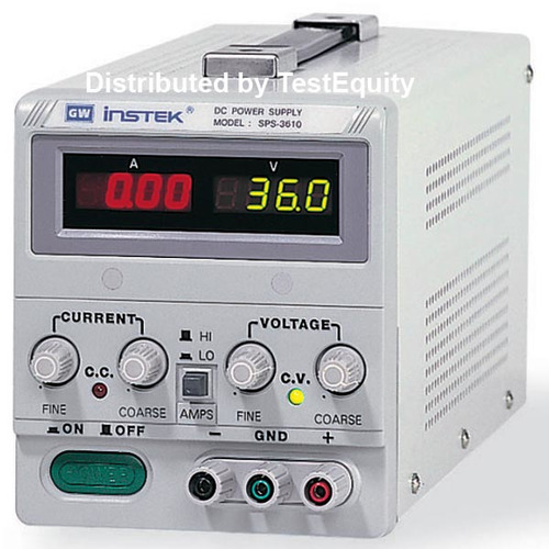 Instek SPS-3610 Power Supply