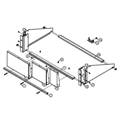 Keithley 2260B-RMK-EIA Rack Mount Kit