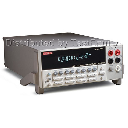 Keithley 2701 DMM/Precision Data Acquisition System