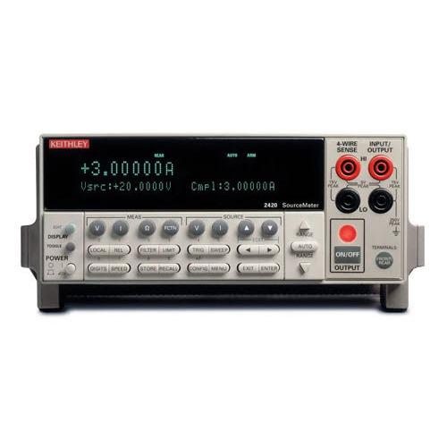 Keithley 2420 SMU 3 Amp SourceMeter Instrument, 2400 Series
