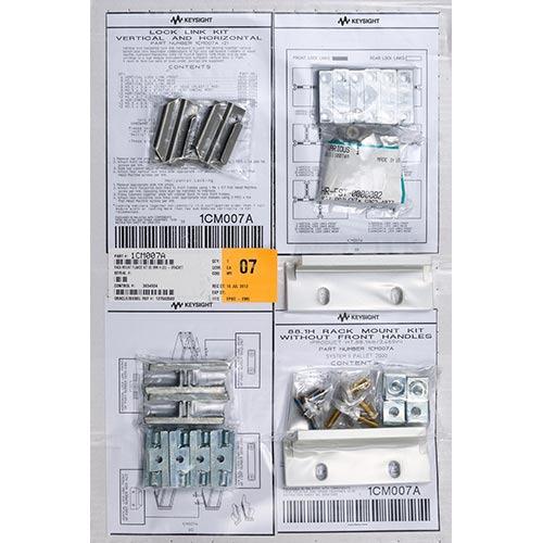 Keysight 1CM007A Rackmount Flange Kit 88.1mm H (2U) - Brackets, Lock Link