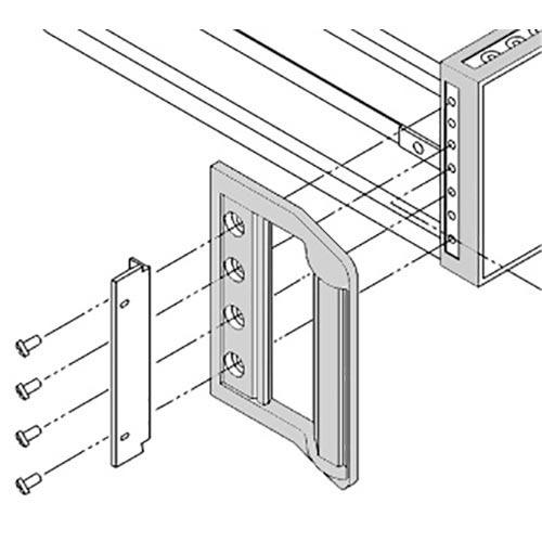 Keysight 1CN103A Handle kit 177.0 mm H (4U)