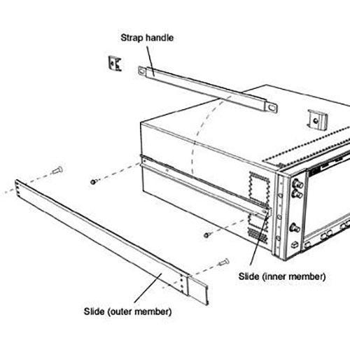 Keysight 1CR013A Rack Slide Kit