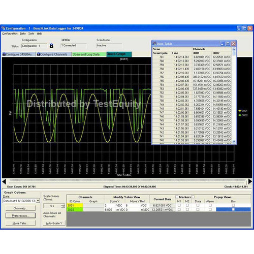 Keysight 34826A BenchLink Data Logger Software