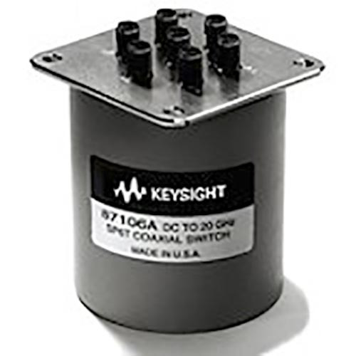 Keysight 87106D/024/161 Multiport Coaxial Switch, DC to 40 GHz, SP6T