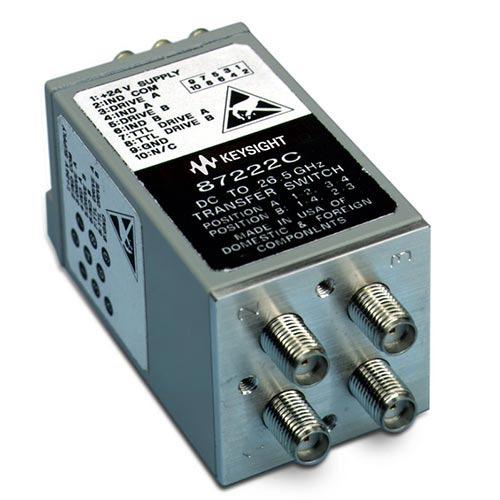 Keysight 87222C/161 Coaxial Transfer Switch, DC to 26.5 GHz