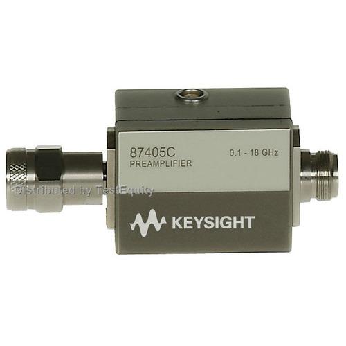 Keysight 87405C/102 Preamplifier, 100 MHz to 18 GHz