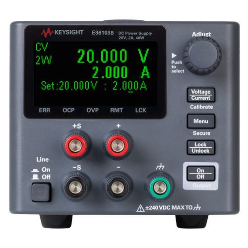 Keysight E36103B 0EM 903 DC Power Supply